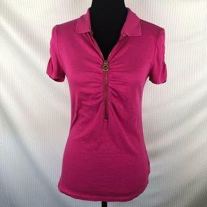 Michael Michael Kors | Pink collard shirts, size M